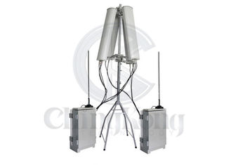 Outdoor Powerful Prison Jammer System Mobile Phone Signal Jammers 6 Bands For Jail Project
